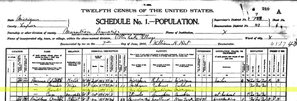 1900 Barnes Special Census