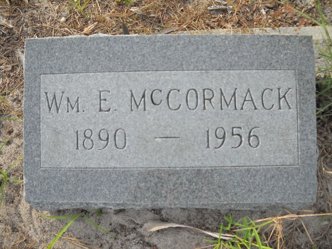 "The ""other"" William E. McCormack"